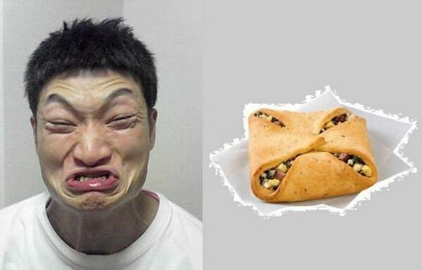 【面白画像】パン顔? ザブングル加藤の「悔しいです!!」の表情が菓子パンと完全一致(笑)iti_0004