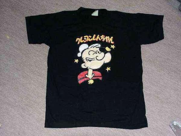 【面白画像】海外あるあるTシャツ! ポパイなのにクレヨンしんちゃん(笑)misswrite_0007
