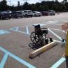 駐車場の正しい利用法! 車椅子専用駐車場に止められていた「車」がおかしい(笑)