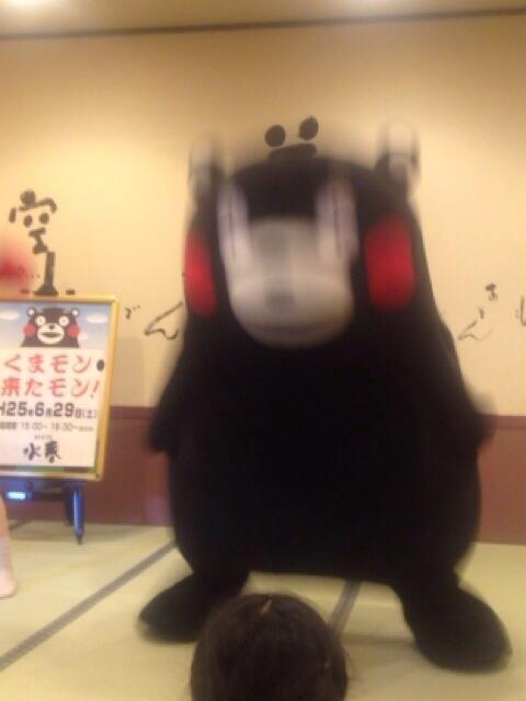 面白画像 『くまモン』の動きが『ふなっしー』みたいで残像がすごい(笑)chara_0001