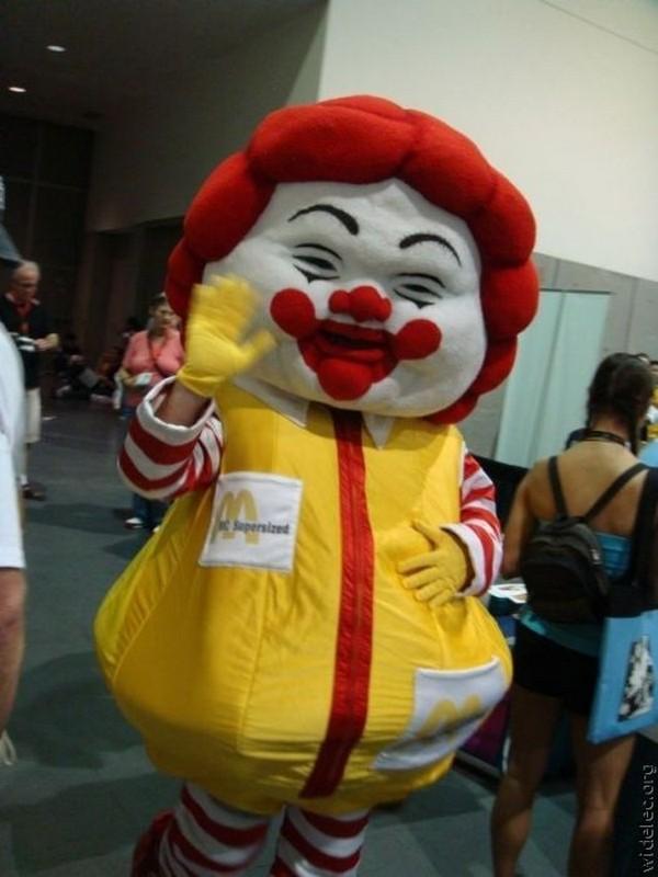 面白画像 『ドナルド・マクドナルド』、マックばかり食べていた結果、太る(笑)chara_0018