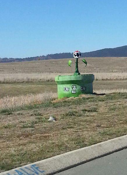 面白画像 一面に広がる荒野に、なぜか『スーパーマリオブラザーズ』の土管(笑)foreign_0003