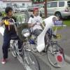 どけどけぃ! 子どもの暴走族風な改造自転車(笑)