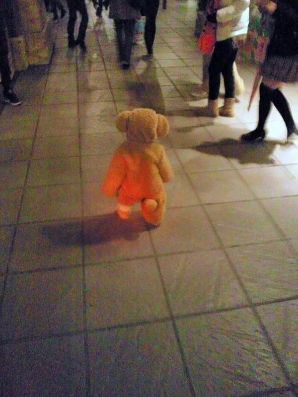 かわいい! ディズニーシーで見かけたダッフィーの着ぐるみを着た子どもがかわいすぎ(笑)