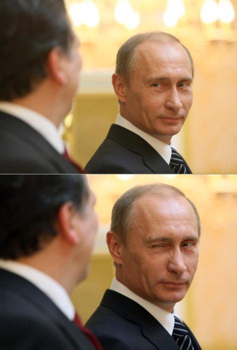 面白画像 ロシアのプーチン大統領のお茶目な一面を発見(笑)politics_0002