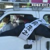 落ちそう! 衆院北海道5区の補欠選挙活動中の中前茂之氏が暴走族顔負け(笑)