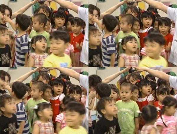 【テレビハプニングおもしろ画像】NHK教育番組『おかあさんといっしょ』で、はいだしょうこに訪れたハプニング(笑)