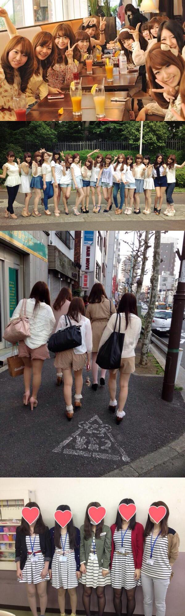 面白画像 没個性! 同じ髪型・同じファッションの「量産型女子」がまるでクローン人間(笑)beauty_0039