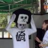 マトリョーシカ? 愛知県岡崎市のゆるキャラ「オカザえもん」の中の人の顔がオカザえもん(笑)