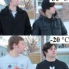 さすが! カナダやロシアとか寒い地域に住んでいる人たちの寒さ耐久力に驚きです(笑)