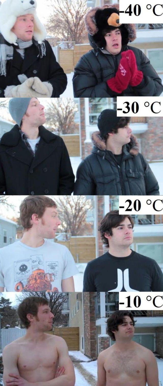 面白画像 カナダやロシアとか寒い地域に住んでいる人たちの寒さ耐久力に驚きです(笑)foreign_0034