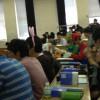 なにあれ? 新潟大学の講義にスーパーマリオのマリオとルイージが参加している光景(笑)