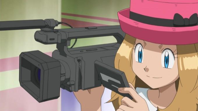 面白画像 セレナがポケビジョン(ポケモンのプロモーションビデオ)で「撮影デビュー」read_0036_01