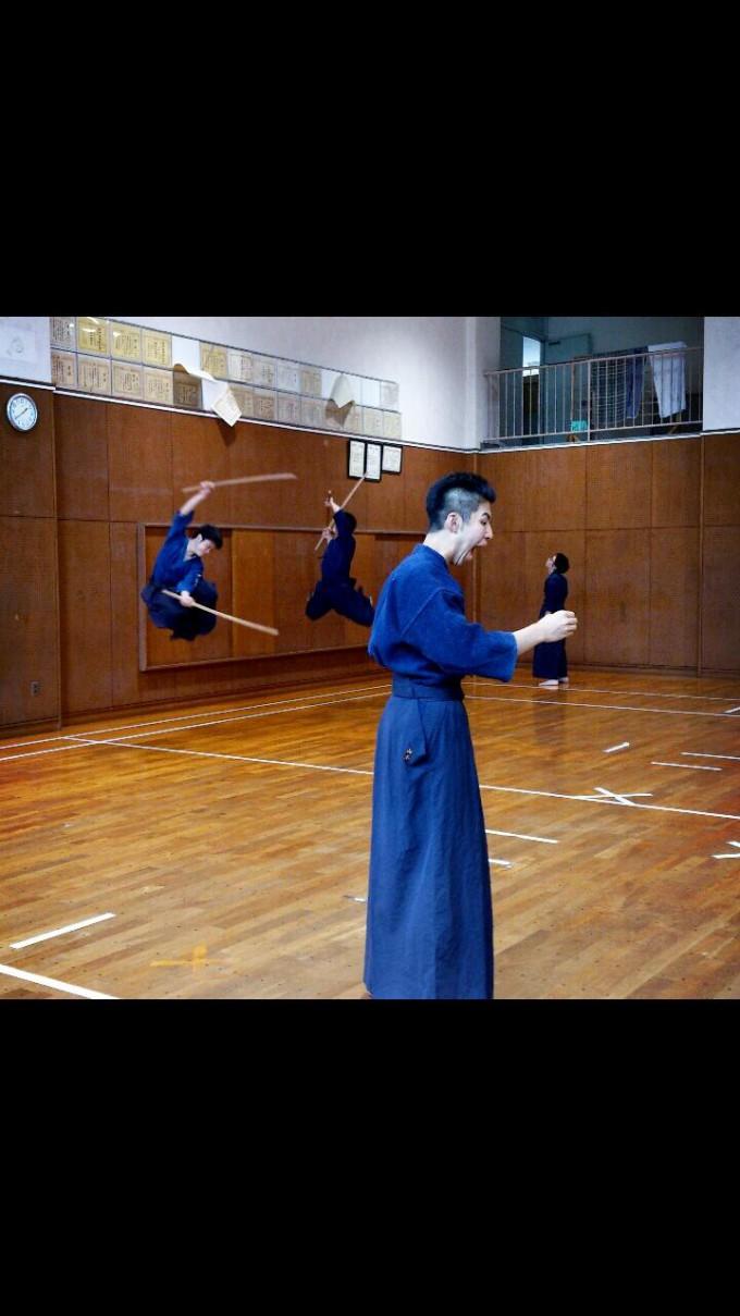 面白画像 剣道部で『進撃の巨人』ごっこを撮影した写メのクオリティが高すぎます(笑)animanga_0052