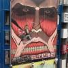 実写! AKIHABARAゲーマーズ本店の看板広告を『進撃の巨人』に替える作業風景がリアル進撃の巨人(笑)