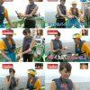 イカ臭い! 青木裕子元アナが漁船で捕らえたカツオを触って「イカ臭い」と発言(笑)