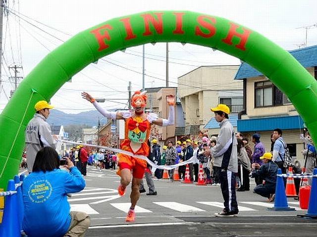 え? 『第26回宮古サーモン・ハーフマラソン』で『スマイルプリキュア!』のキュアサニーが優勝(笑)otacos_0025_01