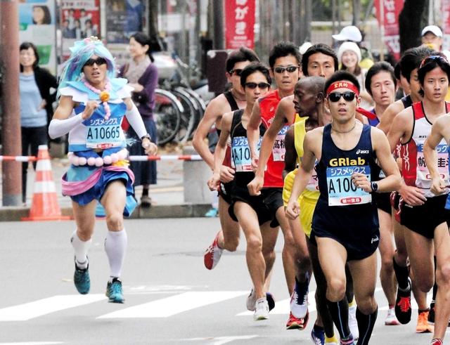 面白画像 『第26回宮古サーモン・ハーフマラソン』で『スマイルプリキュア!』のキュアサニーが優勝(笑)otacos_0025_03