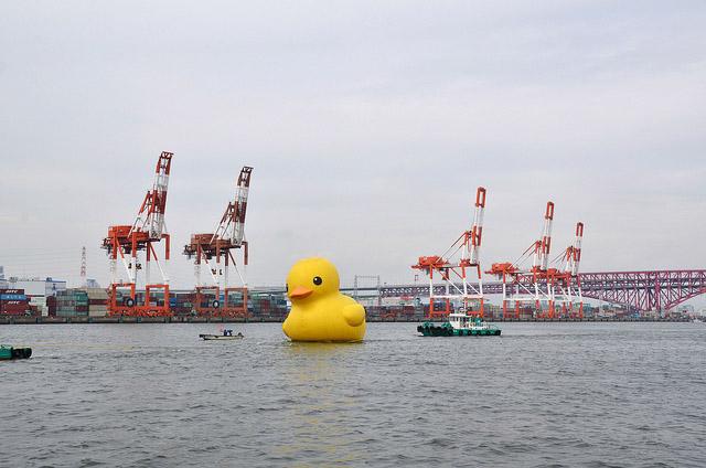 水都大阪フェス2013 ラバーダック お見送りクルーズtvmovie_0051_05