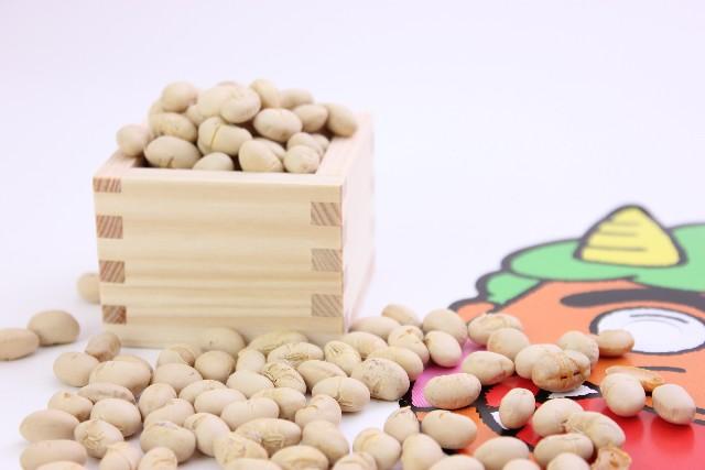 2月3日の節分の豆まきtalent_0049_02