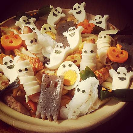 【ハロウィンおもしろ料理画像】お鍋の中のお化けたちのハロウィンパーティーが楽しそうです(笑)helloween_0003