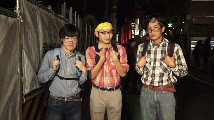 ハロウィン面白画像 ハロウィン渋谷の街中に似つかわしくないオタクの仮装(笑)helloween_0006