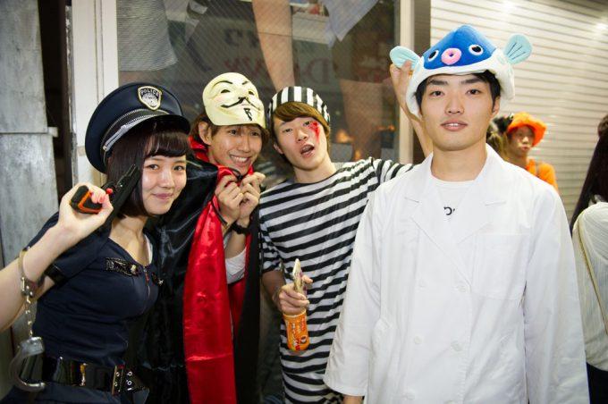 ハロウィン面白画像 ぎょぎょ! 渋谷ハロウィンで見かけた「さかなクン」の仮装がそっくり(笑)helloween_0014