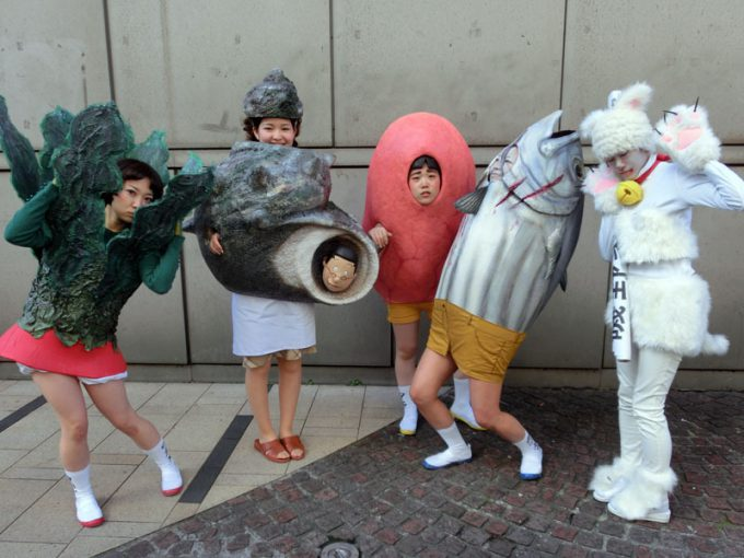 ハロウィン面白画像 リアル再現! 『KAWASAKI Halloween 2013』優勝のリアル磯野家(笑)helloween_0029