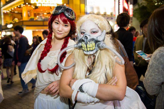 ハロウィン面白画像 ハロウィン渋谷スクランブル交差点にいた『マッドマックス 怒りのデス・ロード』仮装にビックリします(笑)helloween_0038