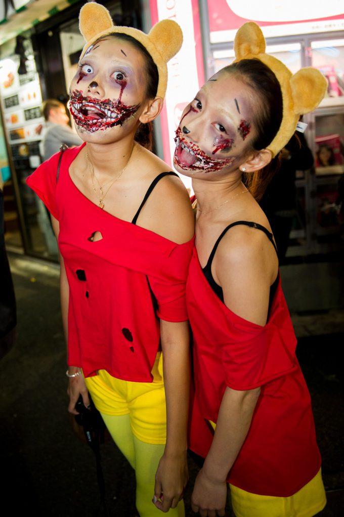 ハロウィン面白画像 かわいい女子かと思って振り返ったらゾンビな渋谷ハロウィン仮装(笑)helloween_0046