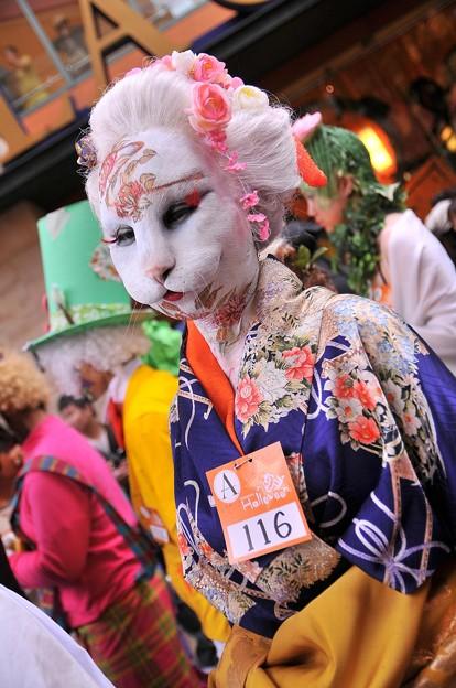 面白画像 猫?それとも人間? 化け猫のような仮装がカワサキハロウィン2011パレードを闊歩(笑)helloween_0061