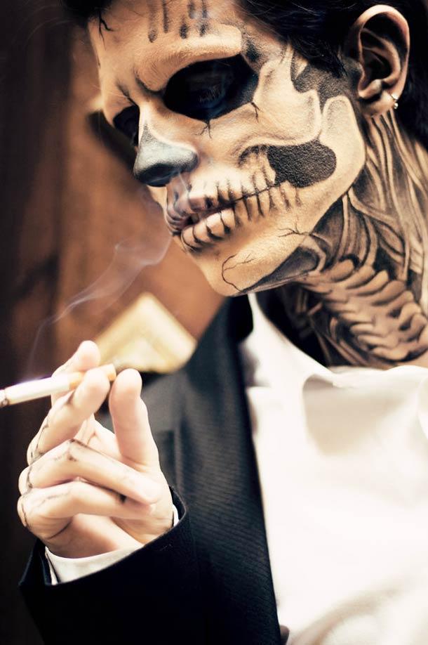 面白画像 ハロウィンの男性メイクにピッタリ! 男性でも見とれちゃう海外のイケメンゾンビ(笑)helloween_0084