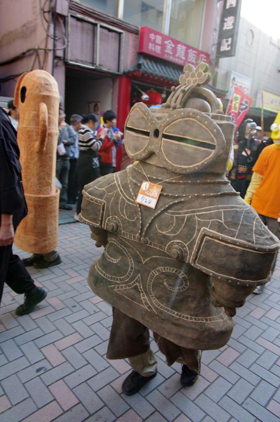 ハロウィン面白画像 古代からやってきた! 土偶と埴輪がカワハロ2013パレードに登場(笑)helloween_0094