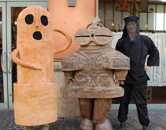 ハロウィン面白画像 古代からやってきた! 土偶と埴輪がカワハロ2013パレードに登場(笑)helloween_0094_02