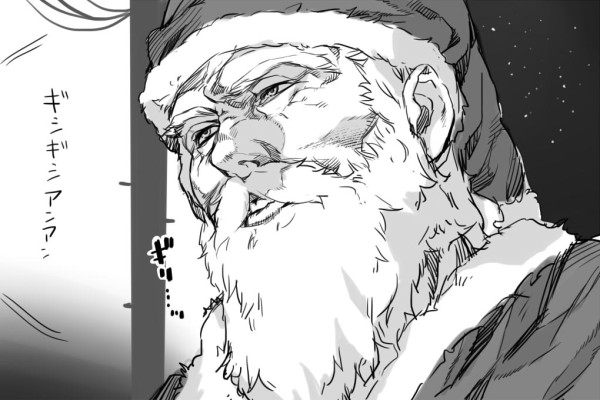 クリスマスおもしろ画像 ギリッ! クリスマスイブに街中を駆け回るサンタがイラッとする光景(笑)christmas_0014