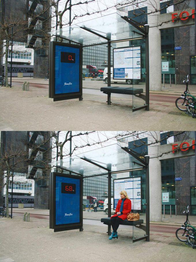 海外面白画像 座れない! イギリスのフィットネスクラブ「Fitness First(フィットネス・ファースト)」が仕掛けたきつい広告(笑)foreign_0042