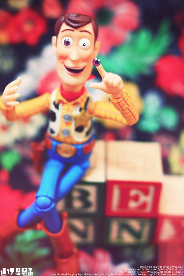 海外面白画像 『トイ・ストーリー』のウッディの目、実はカラコンでした(笑)foreign_0061