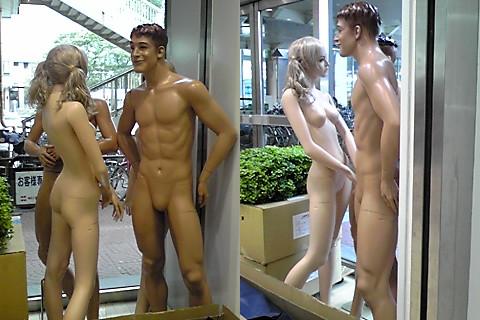 下ネタ面白画像 素っ裸! ダイエーで見かけた服を着ていないマネキン集団(笑)hhh_0055