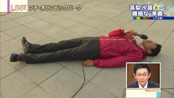 おもしろ画像 熱意! ソチ五輪で高梨紗羅選手の生活リズムを説明する松岡修造が熱すぎます(笑)talent_0078