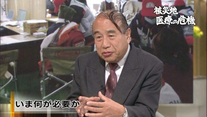 テレビ面白画像 いま何が必要か! NHKに登場した山本保博先生の髪型(笑)tvmovie_0075