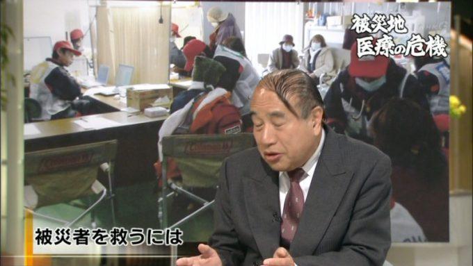 テレビ面白画像 いま何が必要か! NHKに登場した山本保博先生の髪型(笑)tvmovie_0075_02