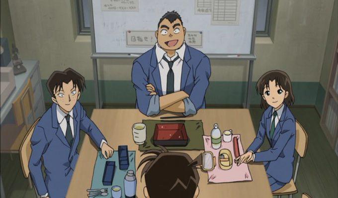 【名探偵コナンおもしろ画像】変わらない! 『10年後の異邦人(ストレンジャー)』に登場した10年後の小嶋元太の昼ご飯(笑)conan_0015