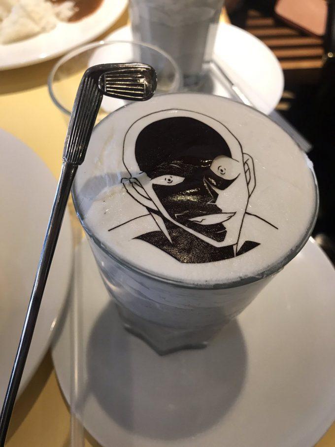 凶器つき! 「名探偵コナンカフェ」の「犯人スムージー」が面白すぎます(笑)conan_0044