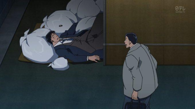 【名探偵コナンおもしろ画像】無茶苦茶! アニメ第798話「動く標的」でビルから飛び降りた人をサッカーボールをぶつけて救出(笑)conan_0053_08