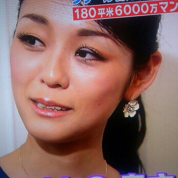 ラサール石井の美人妻 石井桃圭さん、テレビ出演でつけまつ毛ズレの放送事故(笑)beauty_0074_03