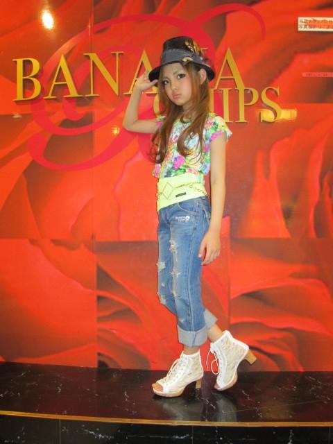 これで女子小学生! 名古屋PARCO『BANANA CHIPS(バナナチップス)』撮影会の様子(笑)kids_0122_14_01