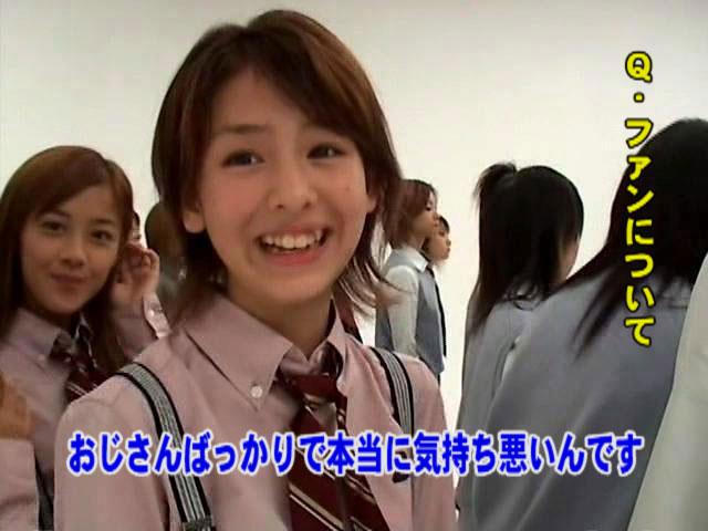 Berryz工房の元メンバー菅谷梨沙子がファンに一言「おじさんばっかりで本当に気持ち悪いんです」(笑)