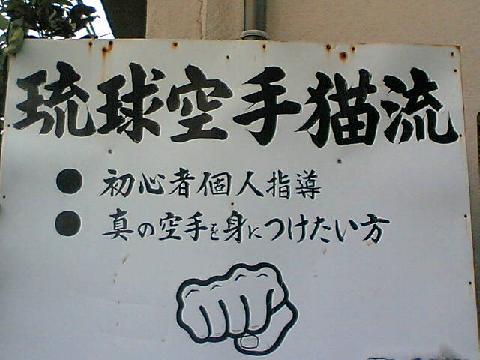 琉球空手猫流