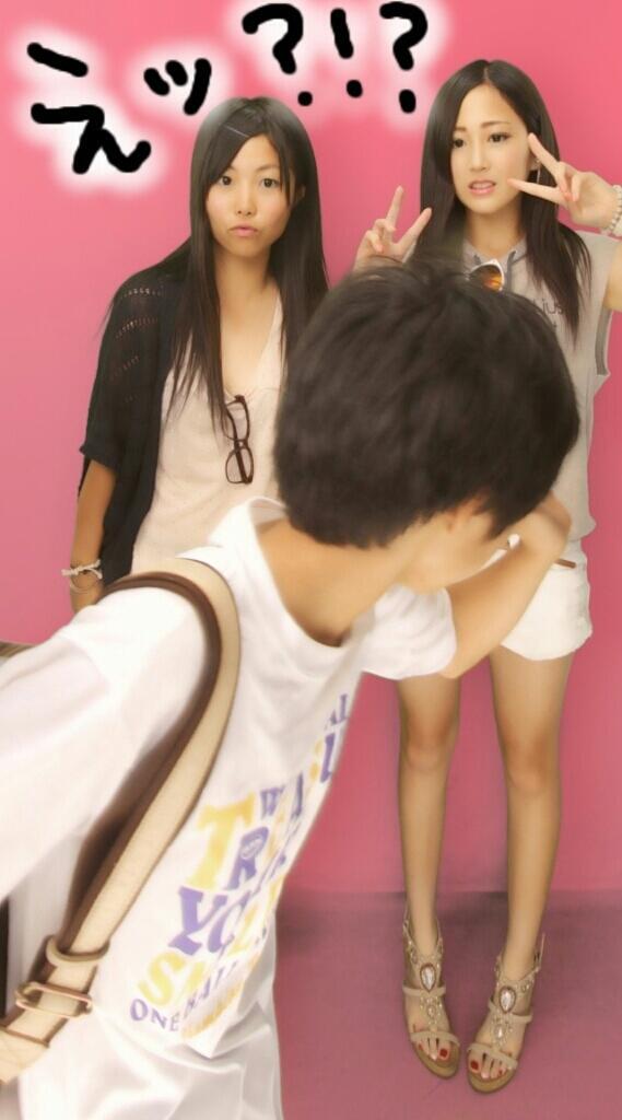 えッ?!? プリクラ撮影中にカメラ前を横切る子ども(笑)syame_0099