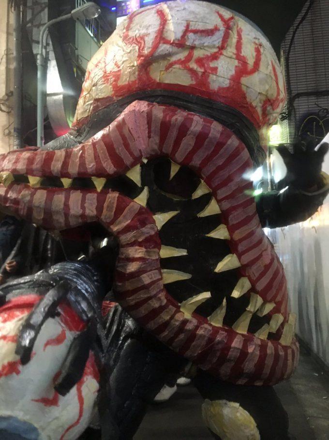 化け物! ゲームのボスキャラで出てきそうな化け物を渋谷ハロウィンで激写(笑)halloween_0123